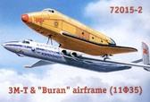 Tранспортный самолет Мясищев VM-T Атлант и космический корабль Буран