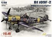 Немецкий истребитель Messerchmitt Bf-109 F2
