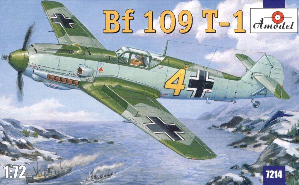 Messerschmitt Bf 109 T-1 Палубный истребитель Люфтваффе Amodel 7214