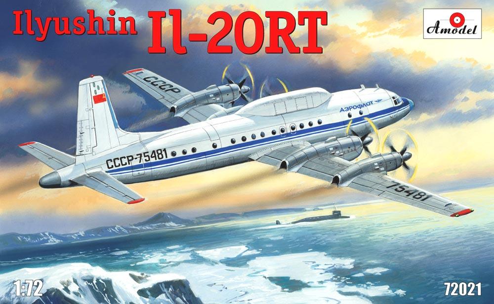 Самолетный измерительный пункт Ильюшин Ил-20РТ Amodel 72021