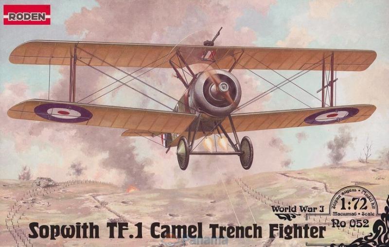 Истребитель-биплан Sopwith TF.I Camel Roden 052