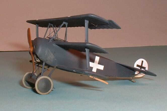Истребитель Fokker Dr.I Roden 010