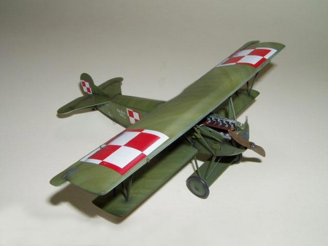 Германский истребитель-биплан Fokker D.VII (late) Roden 417