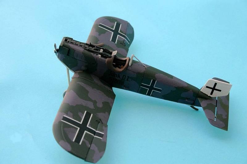 Германский истребитель Junkers D.I (early) Roden 433