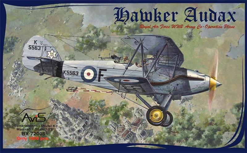 Истребитель Hawker Audax Avis 72008