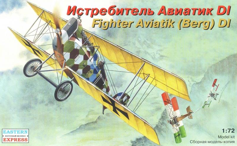 Истребитель Aviatik (Berg) D.I ( 9,6 см ) Eastern Express 72165