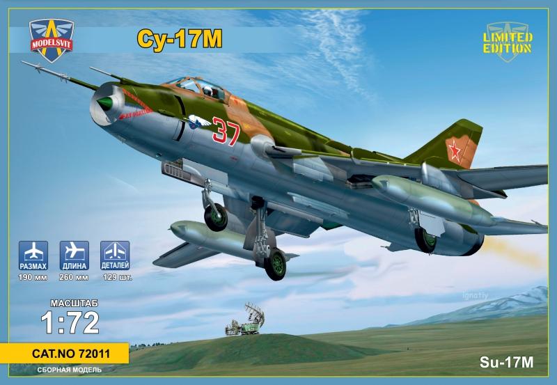 Бомбардировщик Су-17М ModelSvit 72011