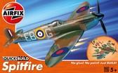 Британский истребитель Spitfire (быстрая сборка без клея) от Airfix