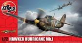 Истребитель Hawker Hurricane MKI (13,3 см ) от Airfix