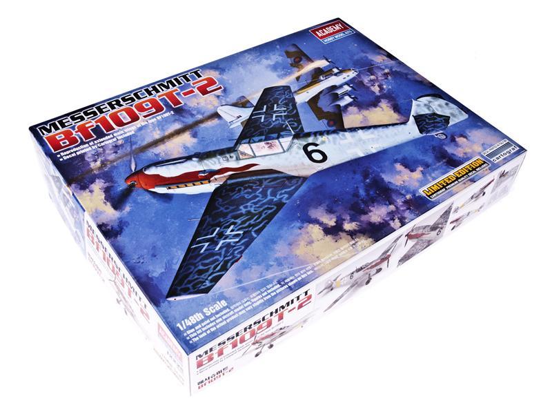 Самолет Мессершмитт BF-109 T-2 Academy 12225