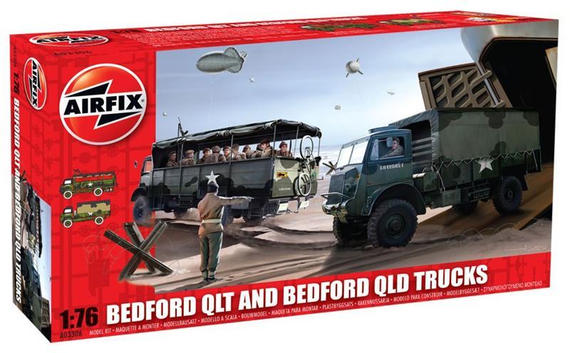 Модель грузовика BEDFORD QT V1 Airfix 03306