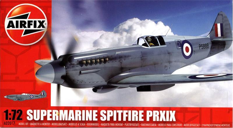 Истребитель Supermarine spitfire PR.XIX Airfix 02017