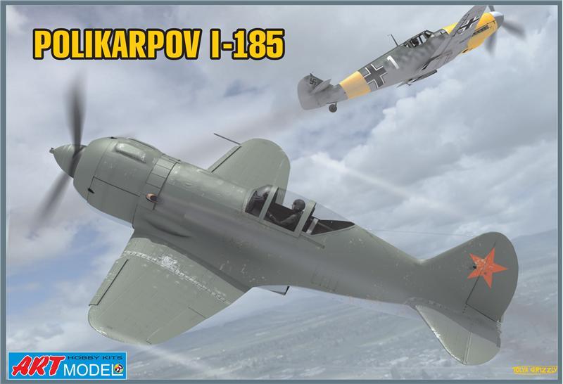 Поликарпов И-185 Советский истребитель Art Model 7206