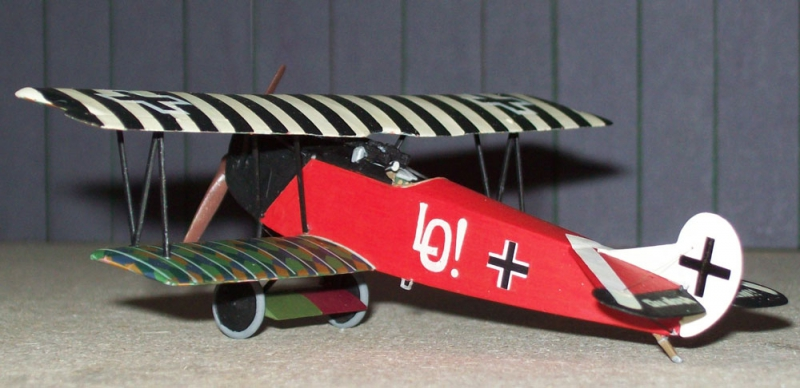 Истребитель-биплан Fokker D.VII OAW (early) Roden 013