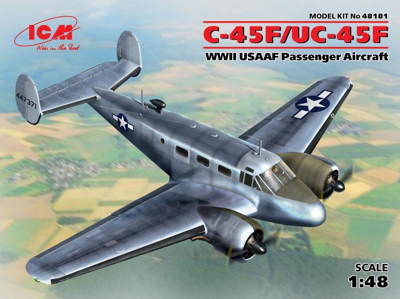 C-45F/UC-45F, Пассажирский самолет ВВС США ІІ МВ ICM 48181