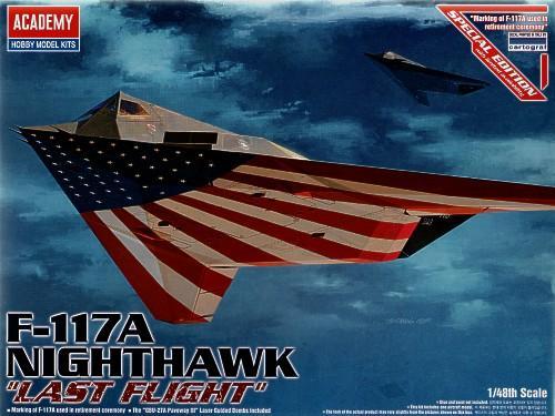 Истребитель F-117 «Последний полёт» Academy 12219