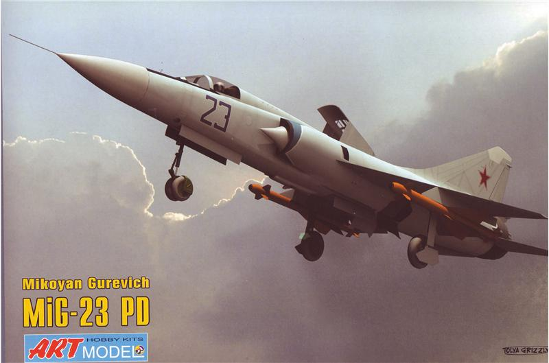 Самолет Микоян МИГ-23ПД Art Model 7208
