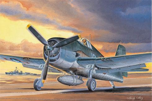 Модель самолета F6F-3 Hellcat Hobby Boss 80359