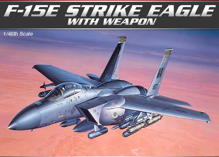 Истребитель-бомбардировщик F-15E «Страйк Игл» Academy 12264