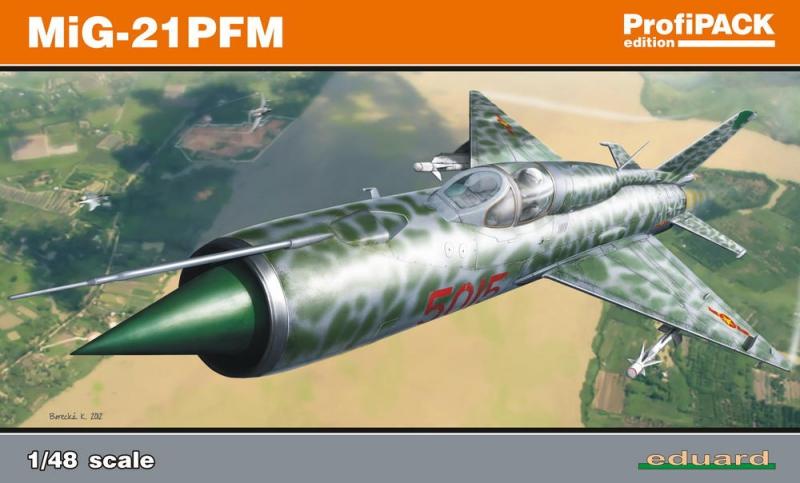 Истребитель Миг-21 ПФМ, профессиональный набор Eduard 08237