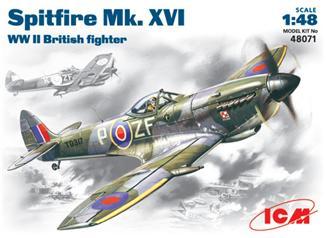 Британский истребитель Spitfire Mk.XVI ICM 48071