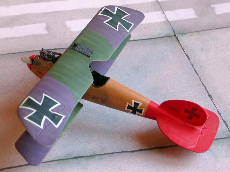 Биплан Albatros D.V/D.Va Roden 032