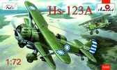 Бомбардировщик Henschel Hs-123A