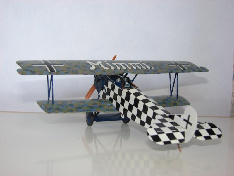 Биплан Fokker D.VII, Alb late Roden 424