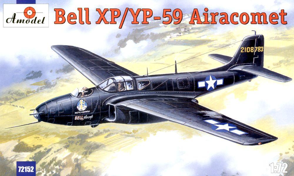 Истребитель-бомбардировщик Bell XP/YP-59 Amodel 72152