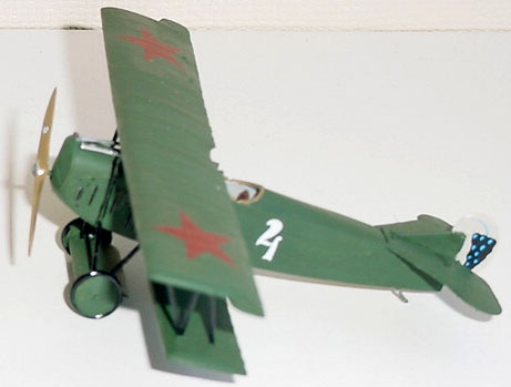 Истребитель-биплан Fokker D.VII F (late) Roden 031