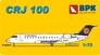 Пассажирский самолет Bombardier CRJ 100 Lufthansa airways Big Planes kits 7207 основная фотография