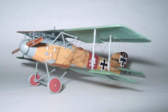 Биплан-истребитель Albatros D.II Roden 006