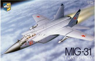Советский перехватчик МиГ-31Б ( 31,5 см ) Condor 7209