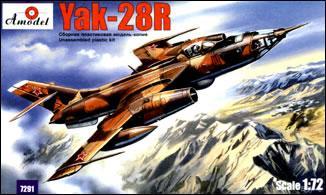 Як-28Р Вариант разведчика на основе Як-28 Amodel 7291