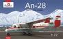 Пассажирский самолет Ан-28, полярный Amodel 72226 основная фотография