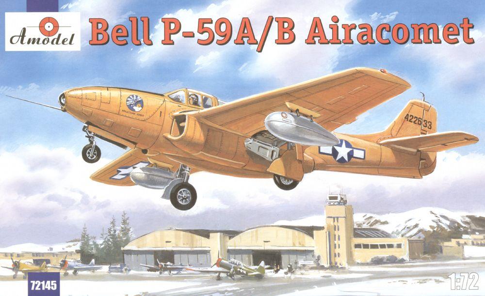 Реактивный истребитель Bell P-59A/B Amodel 72145