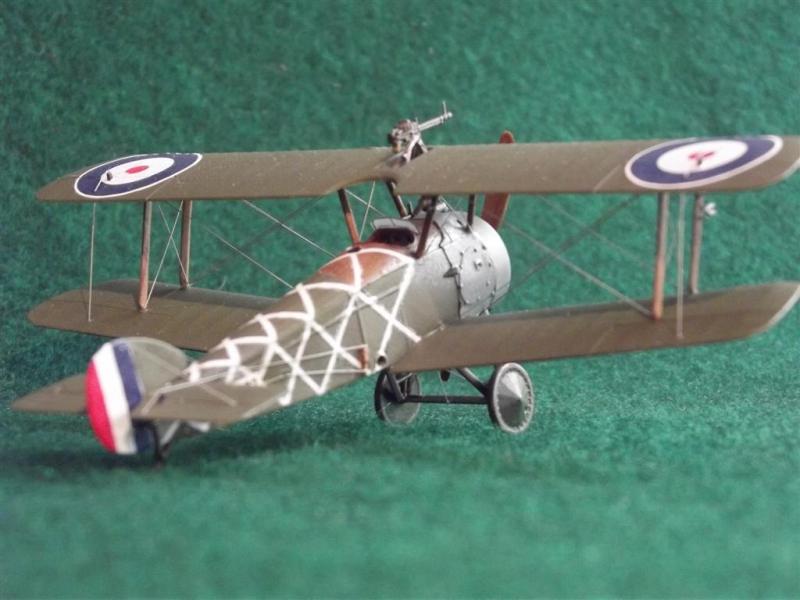 Истребитель Sopwith 2F.1 Camel RAF Roden 044