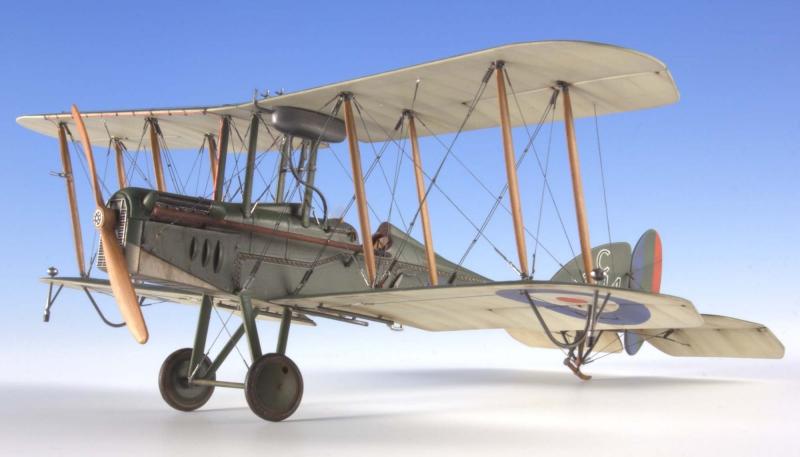 Биплан RAF Be12b Roden 412