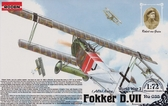 Германский истребитель-биплан Fokker D.VII Alb (late)
