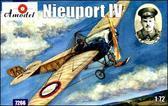 Истребитель-биплан ВВС Британии Nieuport IV