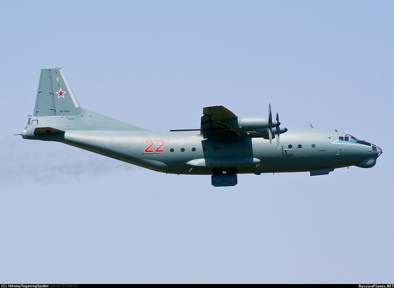 Советский транспортный самолёт Ан-12БК-ППС Roden 046