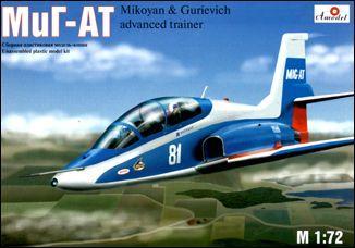 Учебно-боевой самолет МиГ-АТ Amodel 7239
