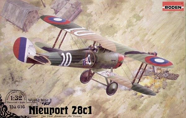 Истребитель-биплан Nieuport 28 c.1 Roden 616