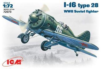 Советский истребитель И-16 тип 28 ICM 72073