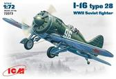 Советский истребитель И-16 тип 28