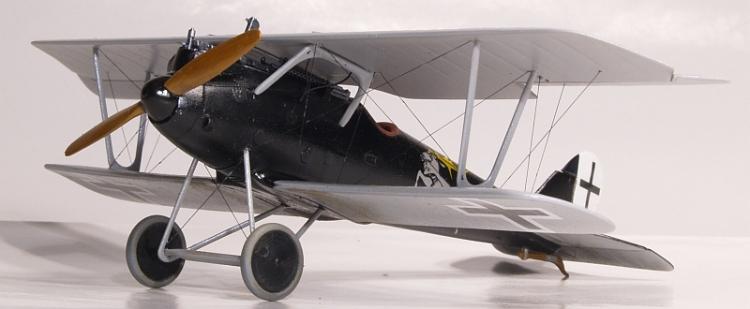 Германский истребитель-биплан Pfalz D.IIIa Roden 015