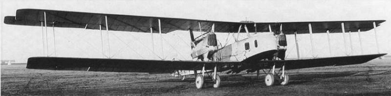 Германский биплан-бомбардировщик Gotha G.V Roden 016