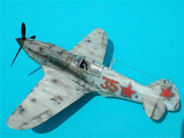 Истребитель LAGG-3 series 1,5,11 Roden 037