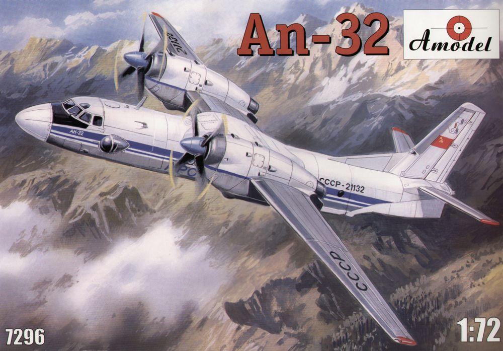 Многоцелевой транспортный самолет Ан-32 Amodel 7296
