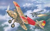 Морской истребитель-биплан Hawker Fury